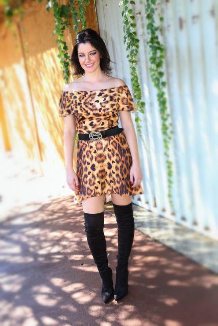 look-para-rodeio-com-vestido