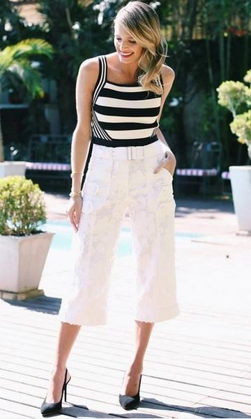 312938c1d Pantacourt / Pantalona curta: como usar sem errar e 80 looks lindos!