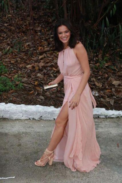 modelo rosa longo