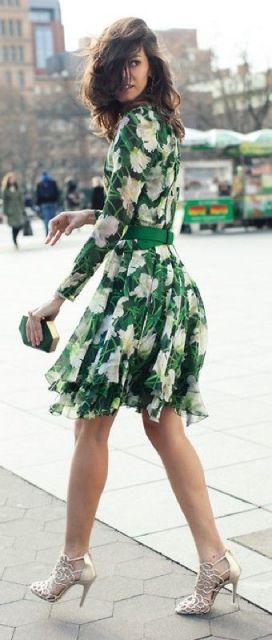 verde e floral