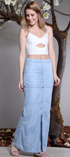 look cropped branco