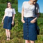 Saia Jeans Midi: Como usar? Modelos e + de 60 looks!