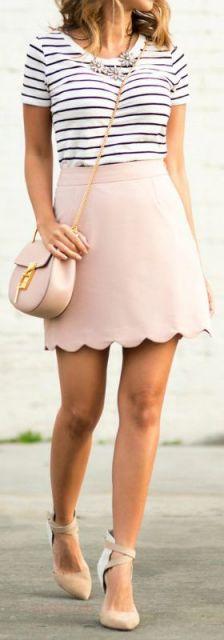 bolsa tiracolo com saia
