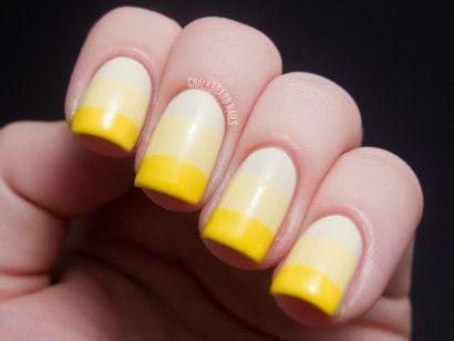 degradê amarelo