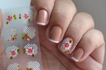 adesivo de flores