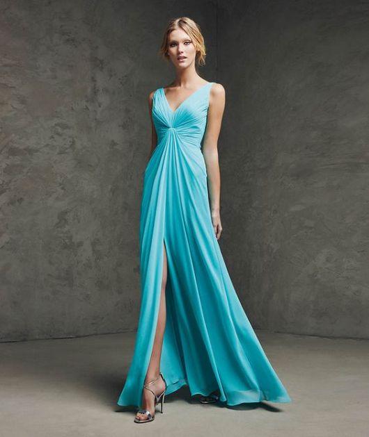 Comprar vestido para madrinha de casamento azul tiffany