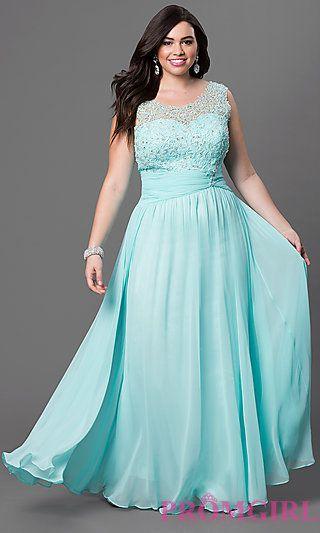 Vestido de festa azul tiffany plus size