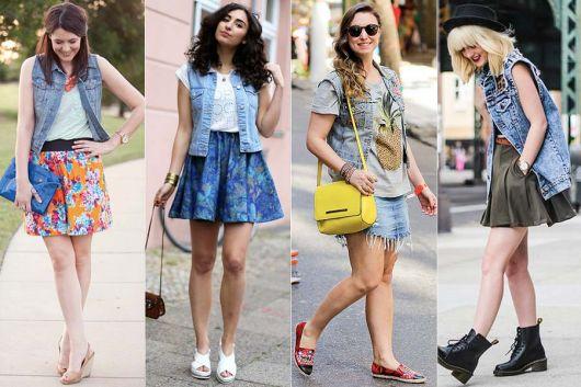 Colete Jeans: Modelos, dicas para usar, DIY e 140 looks maravilhosos!