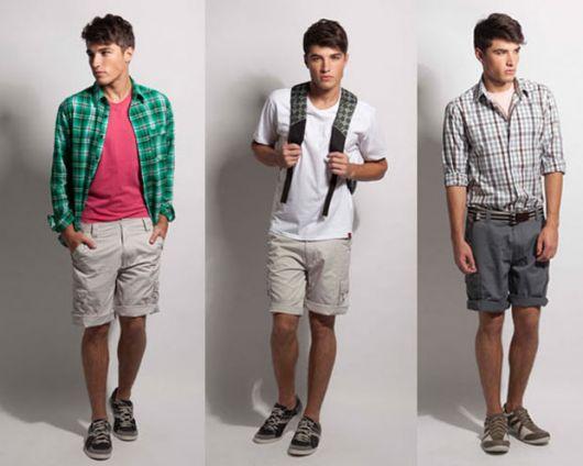 short-masculino-curto-casual