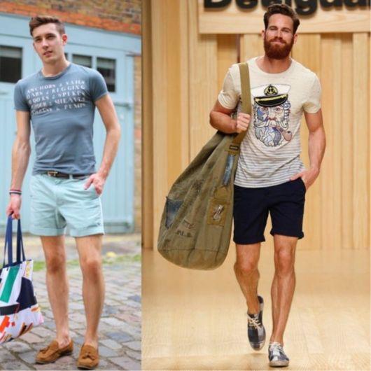 short-masculino-curto-com-camiseta