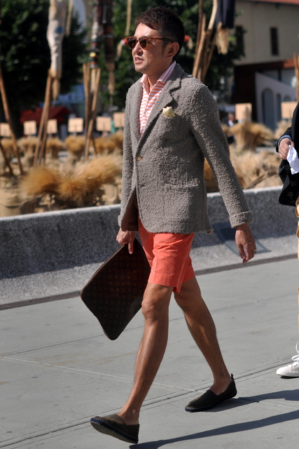 short-masculino-curto-com-terno