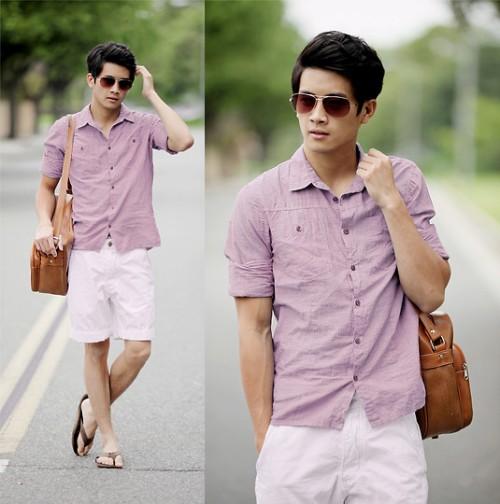 look masculino verão