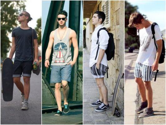 short-masculino-curto-estilo