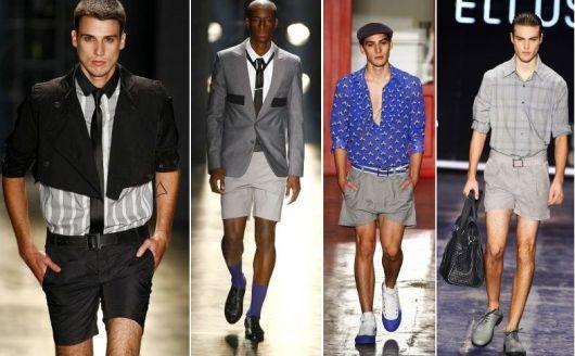 short-masculino-curto-passarelas