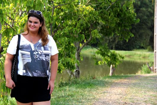 t-shirt-plus-size-short-como-usar