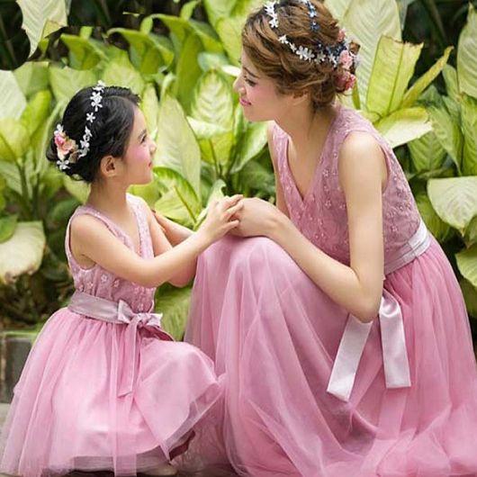 8e027859073eb0 Vestido de Festa Tal Mãe Tal Filha: 34 modelos lindos e encantadores!