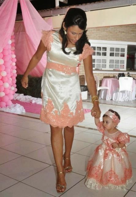 9e3bd2c92e4697 Vestido de Festa Tal Mãe Tal Filha: 34 modelos lindos e encantadores!