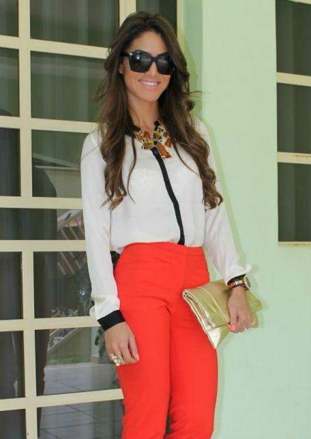 calca-vermelha-cintura-alta-look