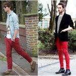 Calça Vermelha Masculina: Combina com que? Modelos + 50 looks!