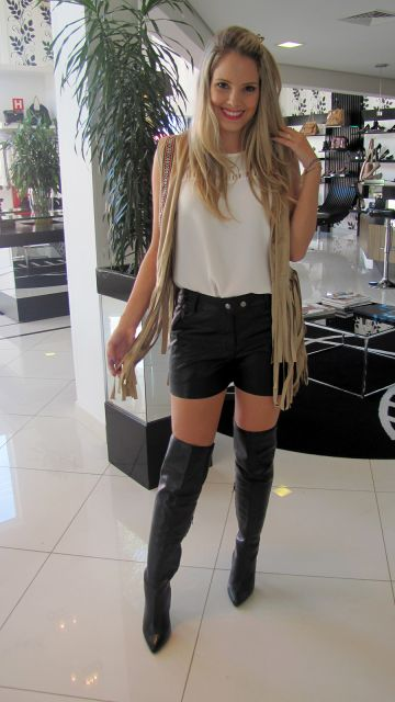 look short com bota over the knee