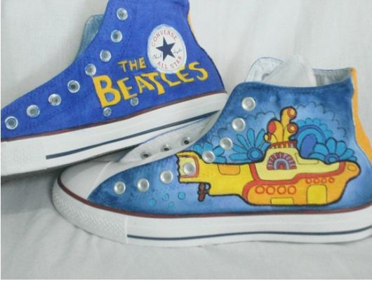 customizacao-de-tenis-beatles