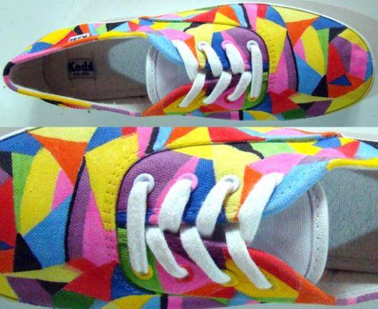 customizacao-de-tenis-colorido