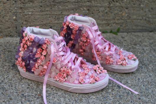 customizacao-de-tenis-flores
