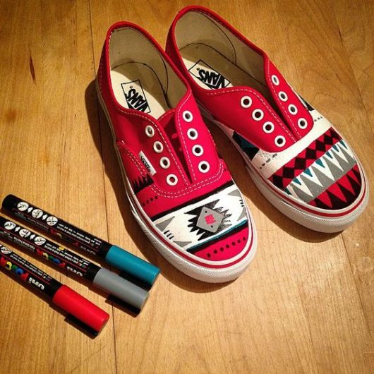 customizacao-de-tenis-pintura