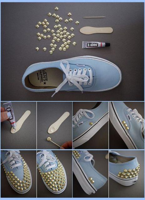 customizacao-de-tenis-vans-azul-claro