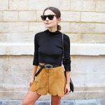 Saia de camurça marrom: Modelos, Dicas e Looks Divos!