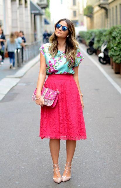 look saia pink
