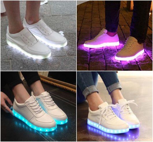 Tênis de LED: Como funciona? Saiba tudo e veja mais de 50 modelos!
