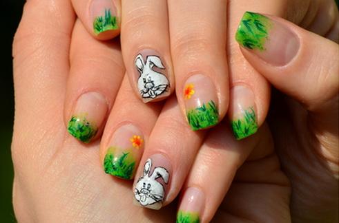 lindas unhas de páscoa decoradas
