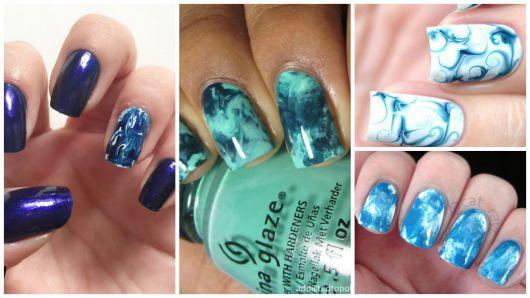marmoriza azul