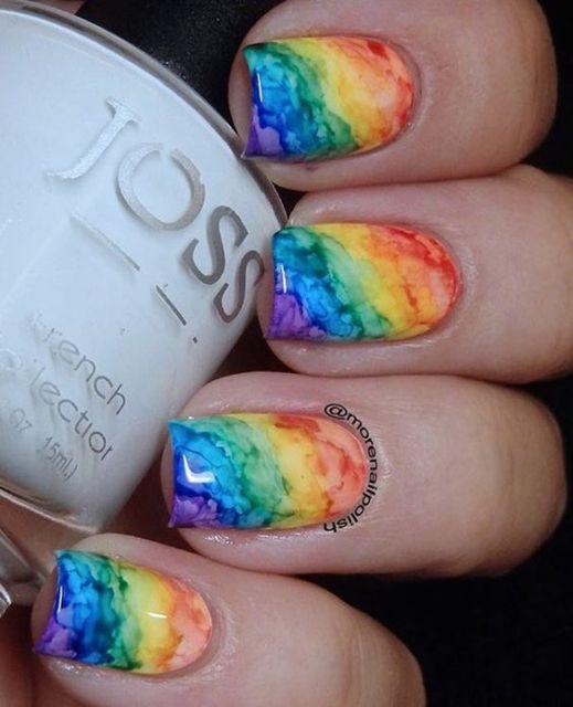 efeito arco íris