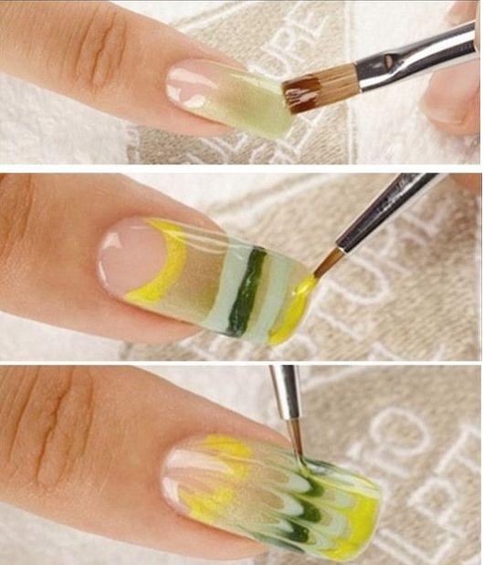 como fazer com pincel