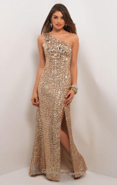 vestido de festa dourado ouro envelhecido
