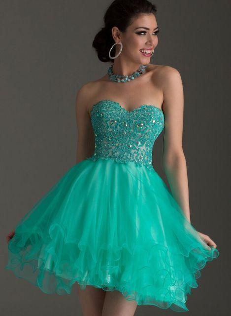 vestido-de-festa-verde-agua-curto