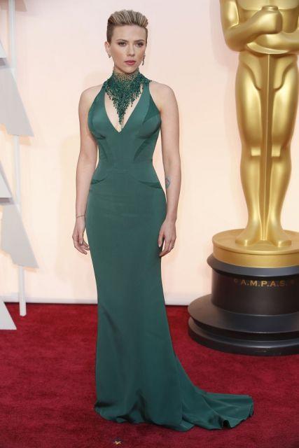 Vestido verde escuro