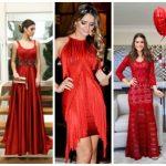 Vestido de festa vermelho: quem pode usar? 60 modelos incríveis!
