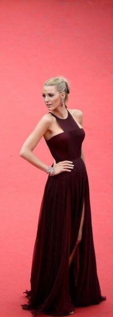 vestido marsala longo