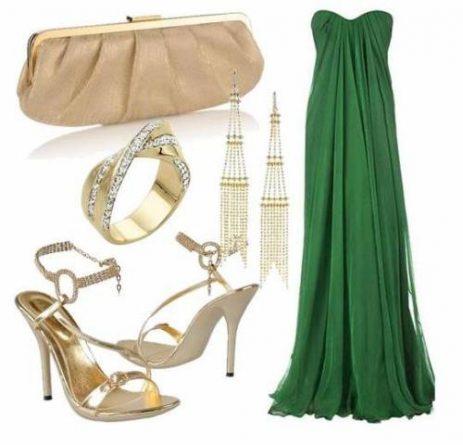 vestido-de-formatura-verde-acessorios-dourados
