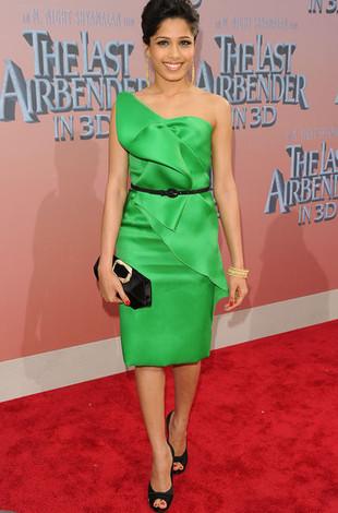Vestido verde que cor de sapato usar