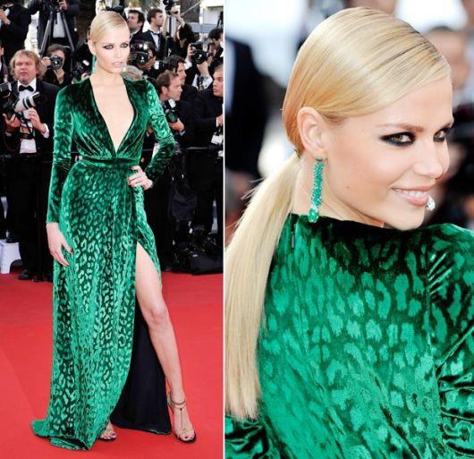 Acessorios para usar com vestido verde esmeralda
