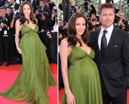 vestido-de-formatura-verde-gestante