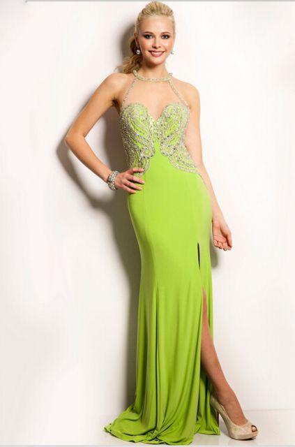 vestido-de-formatura-verde-limao-bordado