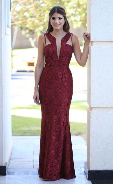 vestido-de-madrinha-vermelho-bordo
