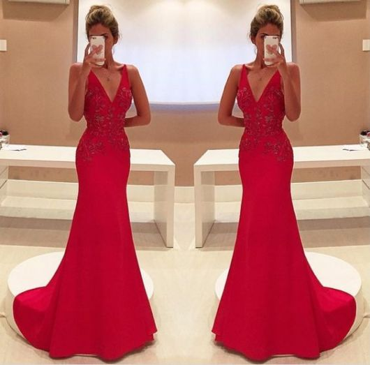 vestido-de-madrinha-vermelho-com-cauda