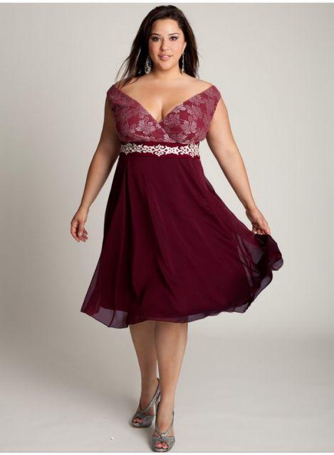 vestido-de-madrinha-vermelho-curto-marsala