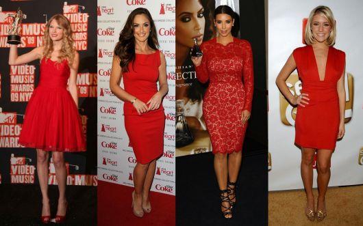 vestido-de-madrinha-vermelho-curto-modelos